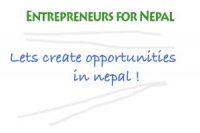 Entrepreneurs for Nepal on Facebook